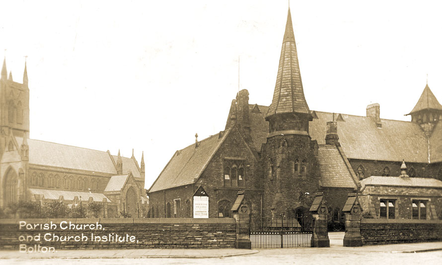 Bolton Church Institute withParish Church
